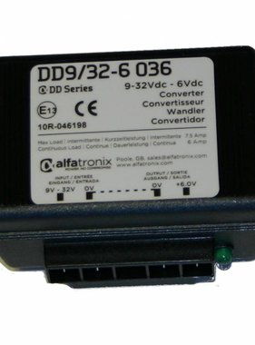 Alfatronix 9-32 VDC Converter with wide range Input (non-isolated)