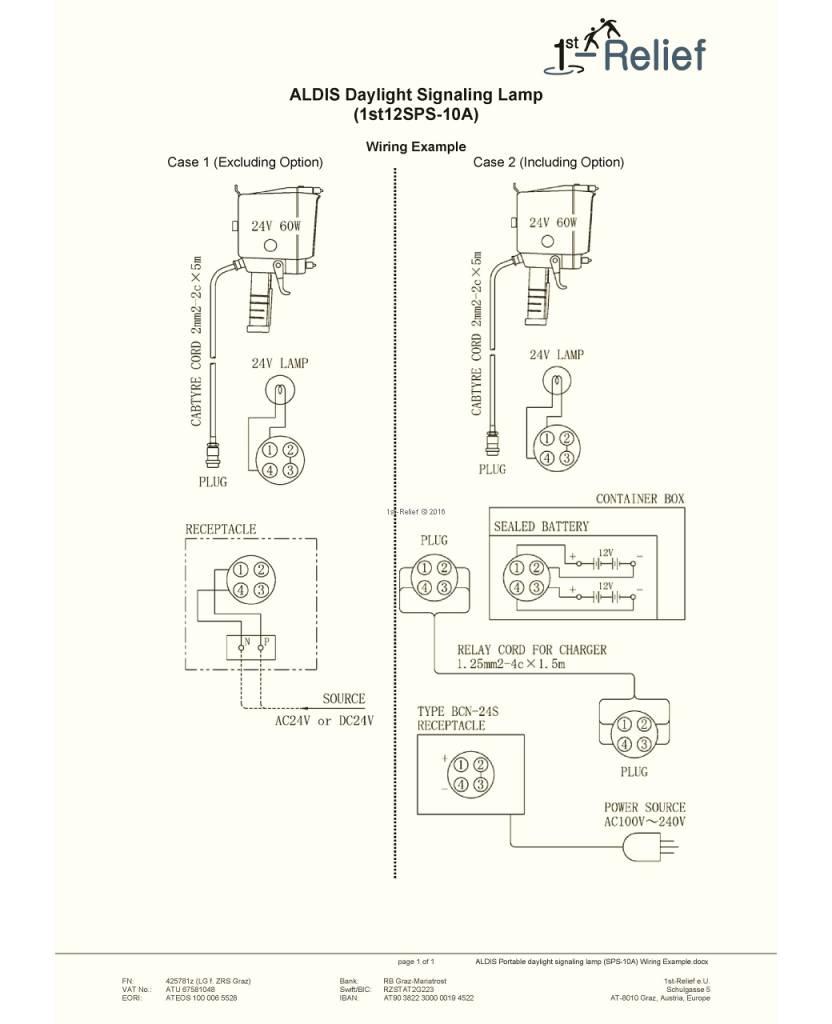 Sanshin Akku für ALDIS Tragbare Tageslicht-Kontrollleuchte SPS-10A
