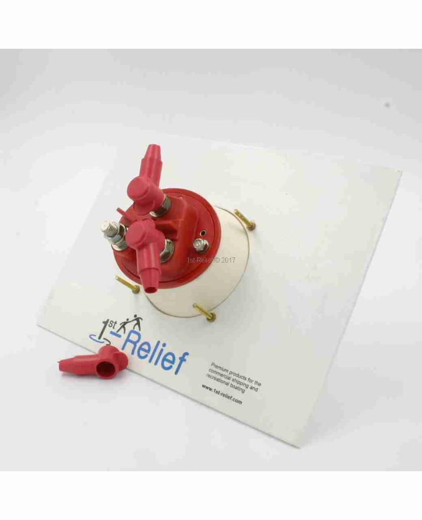 Perko Battery Selector Switch for 2 Batteries - Cup Mount