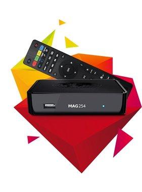 MAG254 IPTV box