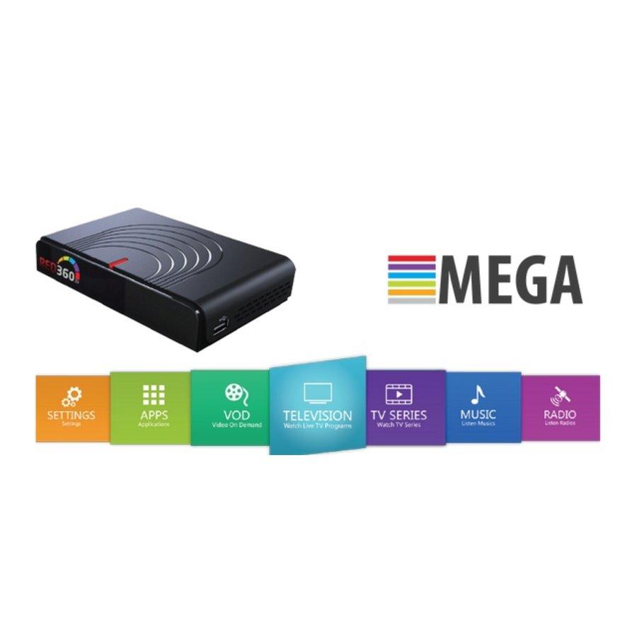 RED360 MEGA box