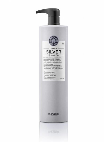 Maria Nila Maria Nila Sheer Silver Shampoo 1000 ml