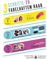 Tangle Teezer® Flyer 3 Steps