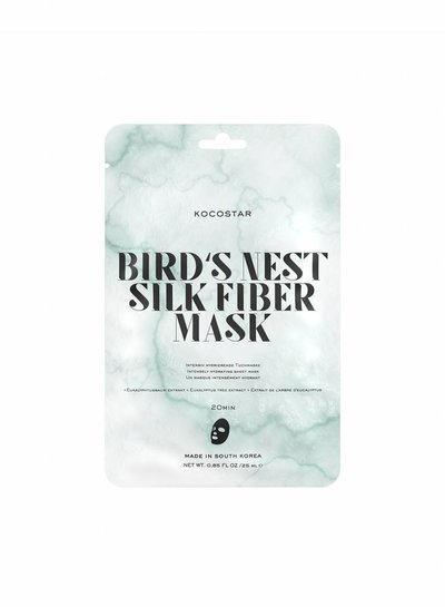Kocostar Sheet Mask – Bird's Nest Silk Fiber Mask
