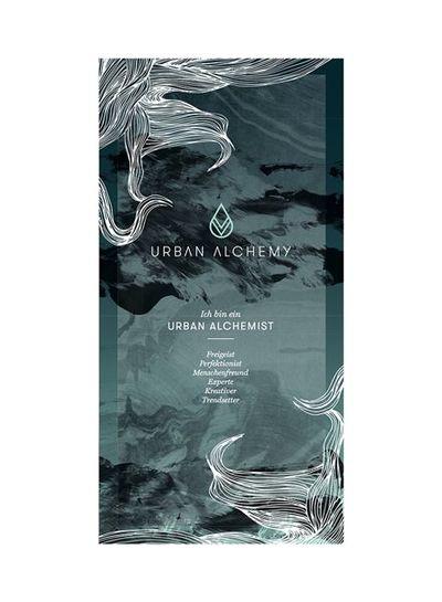 URBAN ALCHEMY URBAN ALCHEMIST Banner 50 x 100 cm