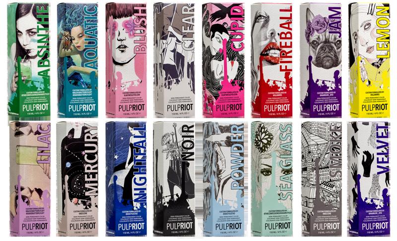 Pulp Riot Colors