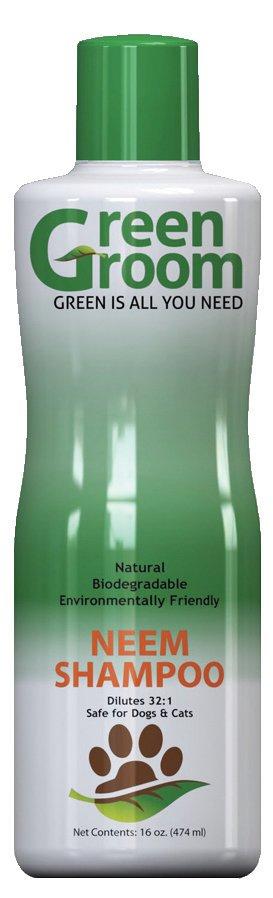 Hundeshampoo gegen Flöhe, Green Groom Neem Shampoo