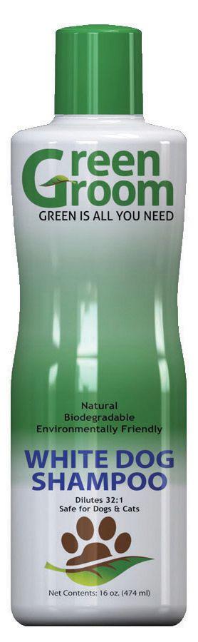 Green Groom White Dog Shampoo für weißes Fell