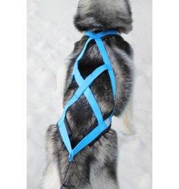 X Back Hunde Zuggeschirr - Blau