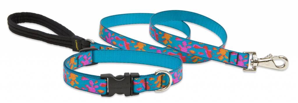 Lupinepet Hundehalsband Wet Paint / Breite 19mm