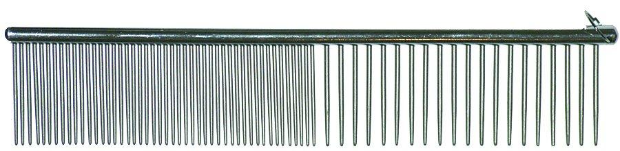 Sure Grip 20,3cm Grooming Kamm - Lange Zähne - Grob / Fein