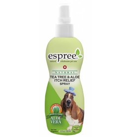 Espree Fellpflegespray gegen Juckreiz Schuppen ... Dermatitis Espree Tea Tree & Aloe Spray