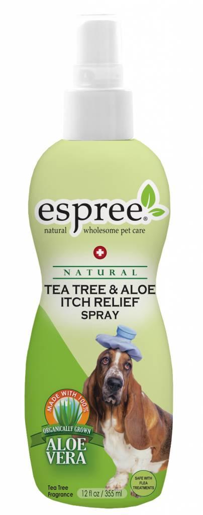 Espree Fellpflegespray gegen Juckreiz Schuppen Dermatitis Espree Tea Tree & Aloe Spray