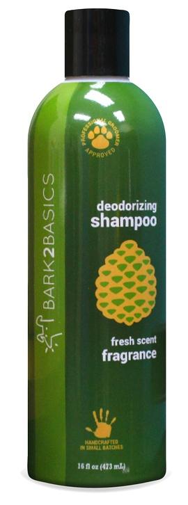 Bark2basics Hundeshampoo gegen Geruch & starken Schmutz, Bark 2 Basics Deodorizing Shampoo