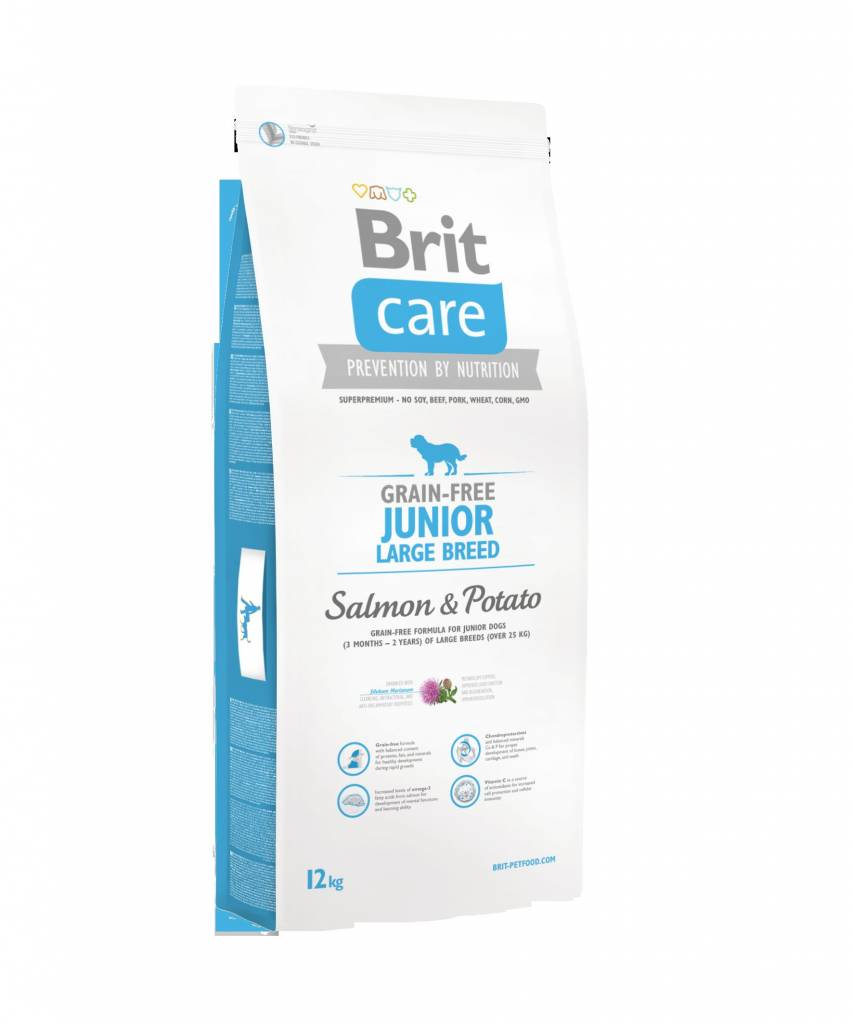 Brit Hundefutter Brit Care Junior Large Breed Salmon & Potato