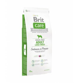 Brit Hundefutter Brit Care Adult Large Breed Salmon & Potato
