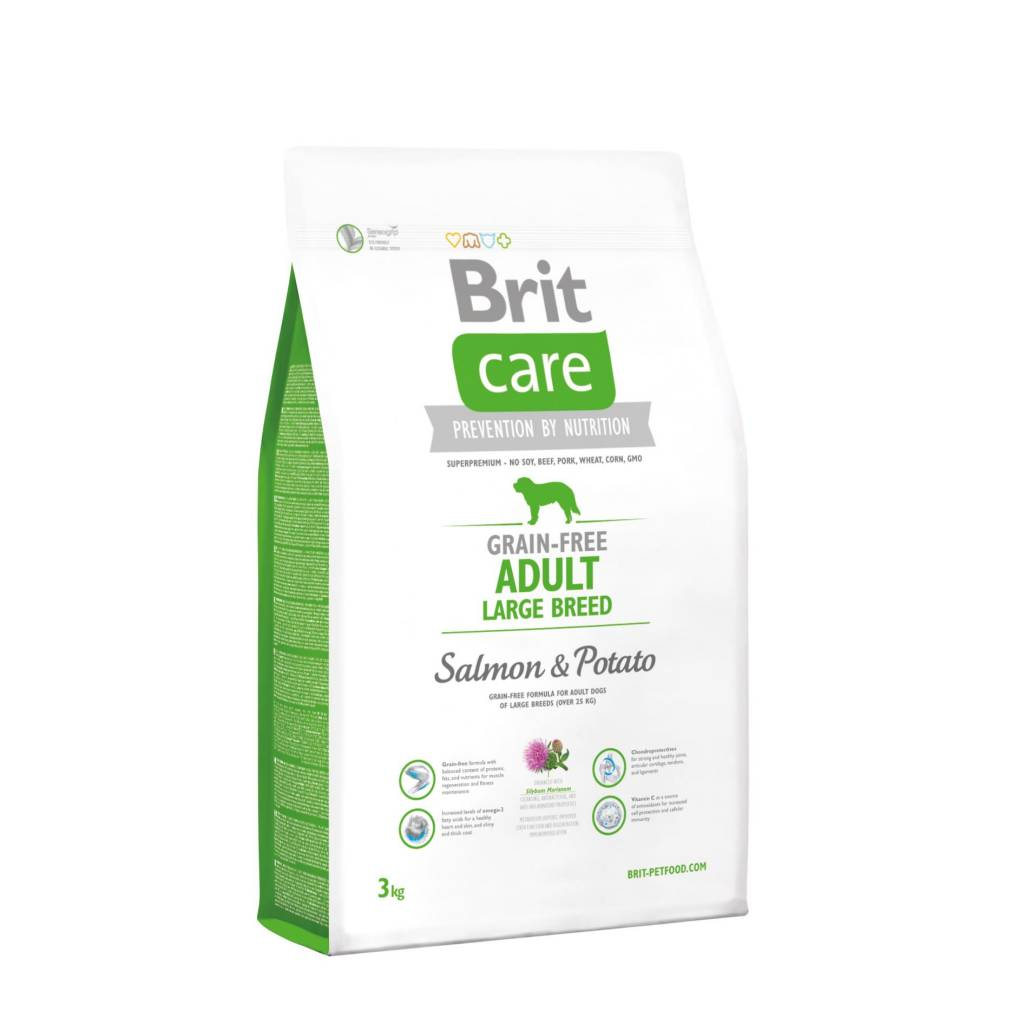 Brit Hundefutter Brit Care Adult Large Breed Salmon & Potato