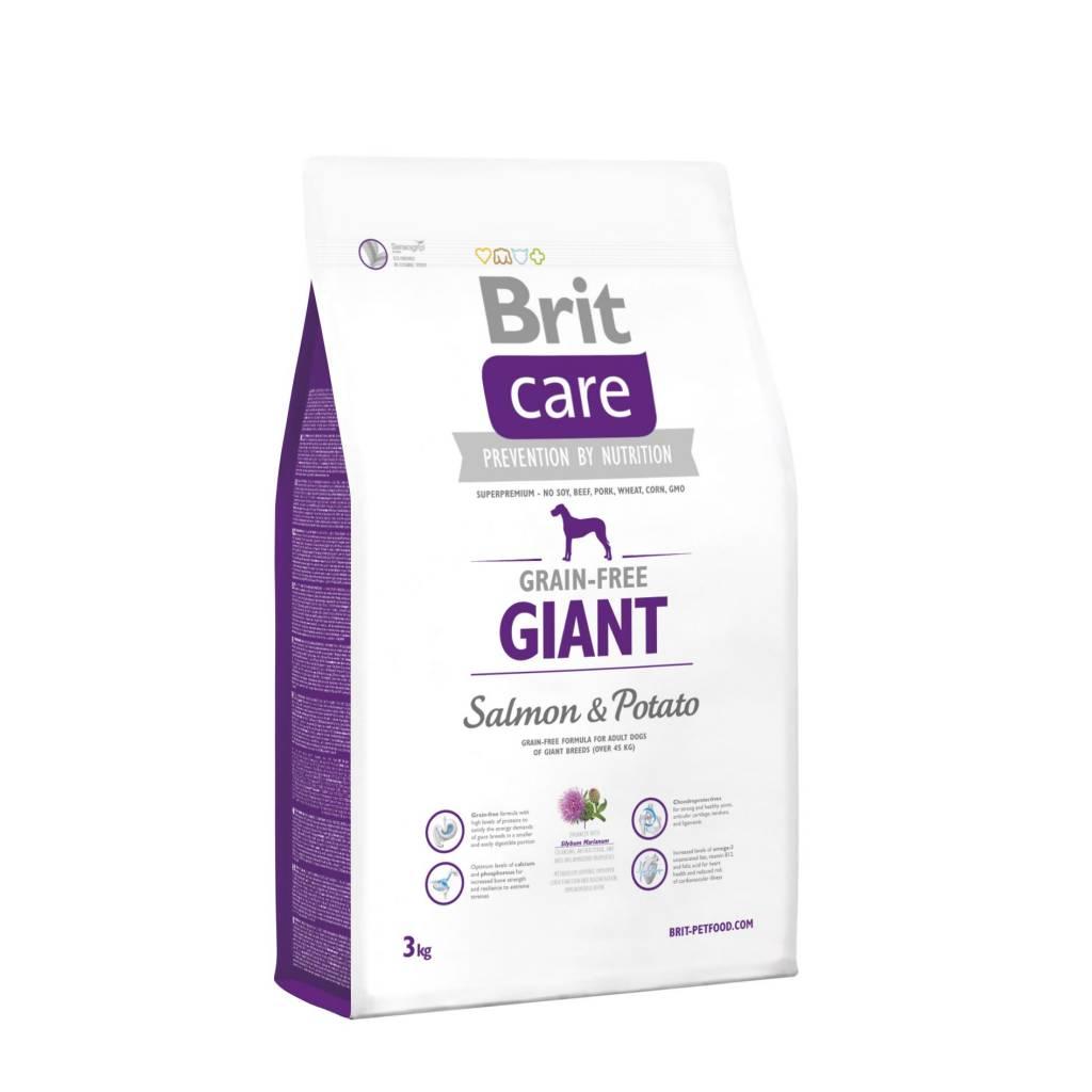 Brit Hundefutter Brit Care Giant Breed Salmon & Potato