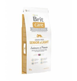Brit Hundefutter Brit Care Senior & Light Salmon & Potato