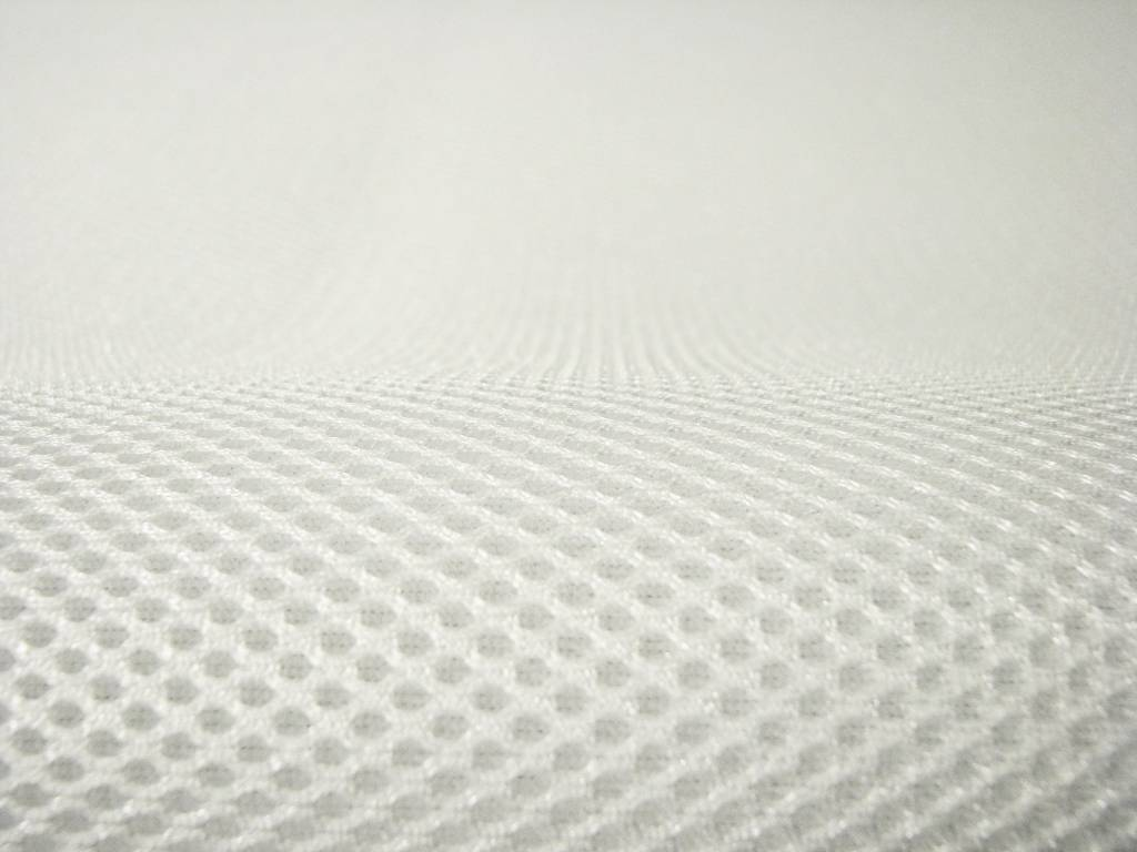 Air Mesh Mètre 4 mm Blanc, Largeur 1,60 m