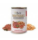 Brit Hundefutter Brit Boutiques Gourmandes Chicken Bits & Pate - 400g - Leckeri, Snacks