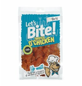 Brit Hundefutter Lets Bite Twister o'Chicken