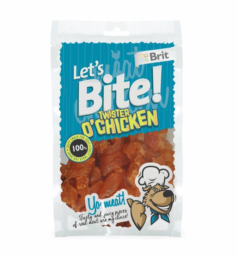 Brit Hundefutter Lets Bite Twister o'Chicken
