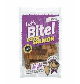Brit Hundefutter Lets Bite Cod'n'Salmon