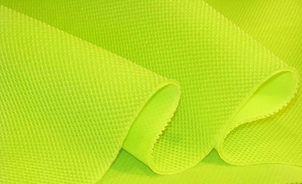3D Airmesh NEON YELLOW 4mm / 1,00m length x 1,60m width