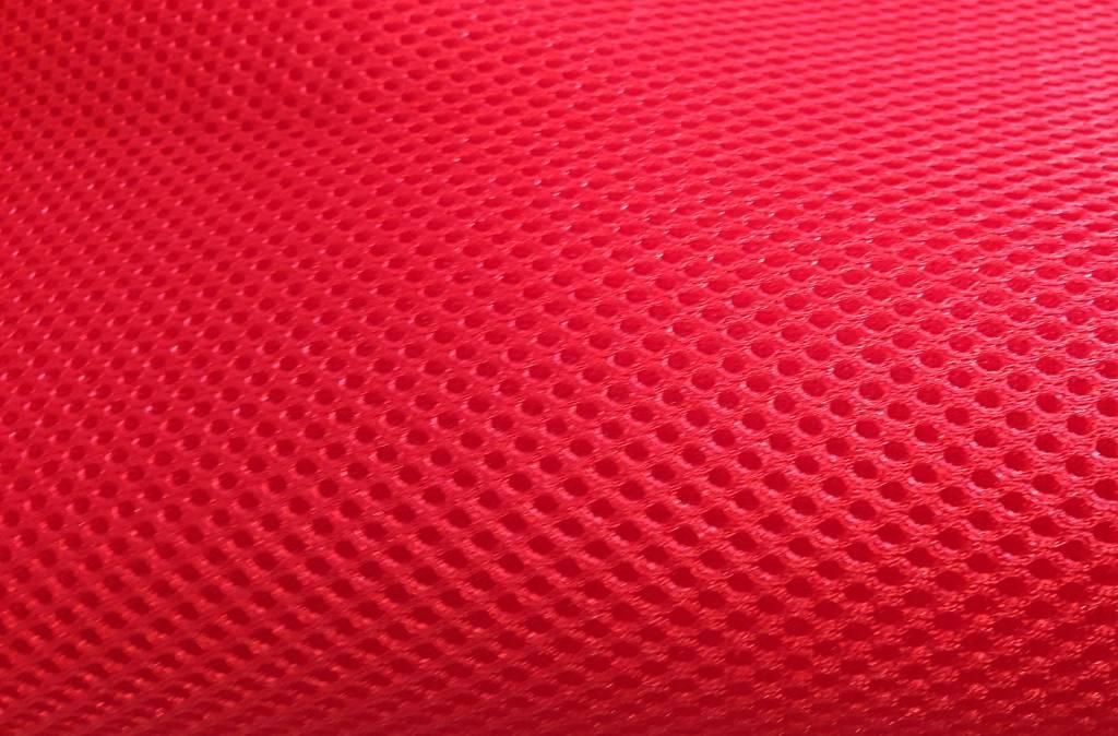 3D Airmesh Red 4mm / 1,00m length x 1,60m width