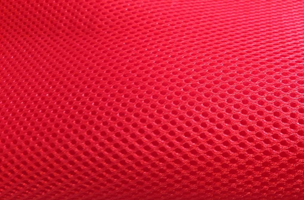 Air Mesh Mètre 4 mm rouge, largeur 1,60 m