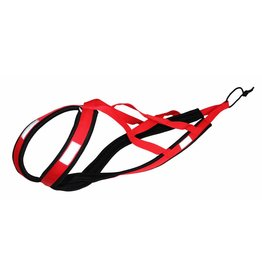 Weight Pulling Dog Harness, X-Back  RED
