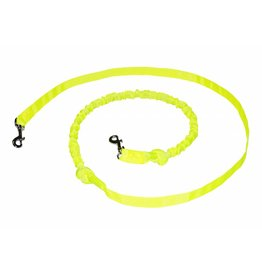 Hands free Dog Leash with integrated Bungee - Neon Yellow