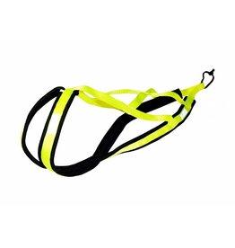 X Back Hunde Zuggeschirr - Neon Gelb