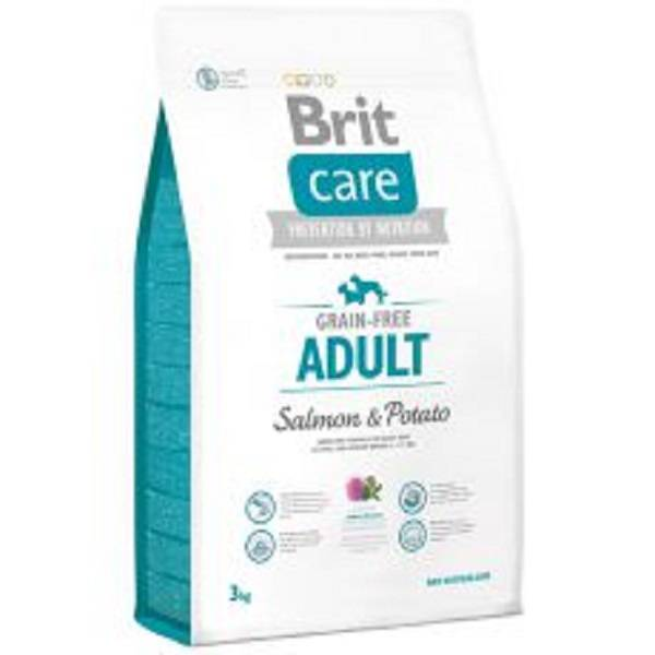 Brit Hundefutter Brit Care Adult Salmon & Potato