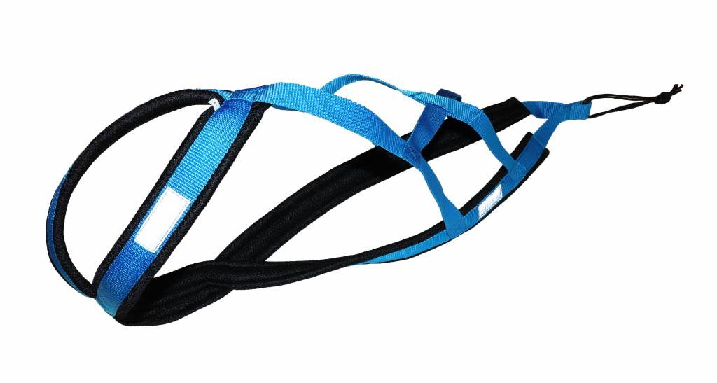 Northern Howl Northern Howl Weight Pulling Dog Harness, X-Back Style - Blue