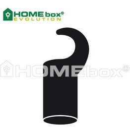 HOMEbox Evolution Plastikhaken Kurz