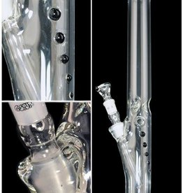 Zylinder Eis / 50 x 500 x 5 mm / Farbpunkte / Panzerschliff / 3-teilig