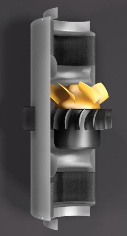 CAN Q MAX 150 / 555 m³/h / AC / 3 Spd