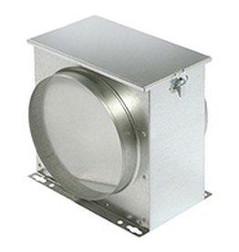 Filterbox mit Filtervlies - Ø 125