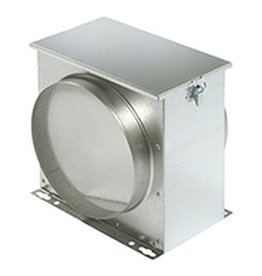 Filterbox mit Filtervlies - Ø 150