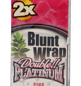 Platinum Double - Blunt Wrap - Pink