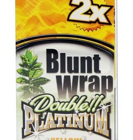 Platinum Double - Blunt Wrap - Yellow