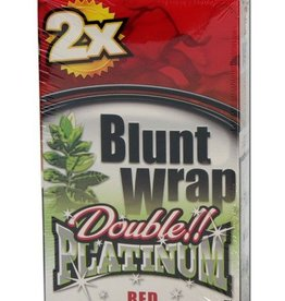 Platinum Double - Blunt Wrap - Red