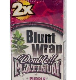 Platinum Double - Blunt Wrap - Purple