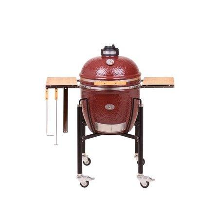 Monolith-Grills Rode keramische barbecue met onderstel