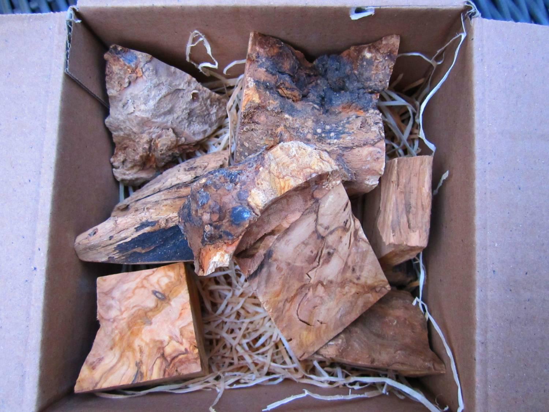 "Review Sample pakket ""Smokey Olive Wood"""