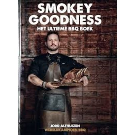 BBQ Boek Smokey Goodness met gratis Sample pack rookhout