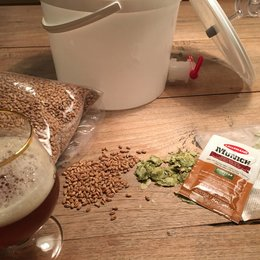 Bier Brouw pakket Weizen