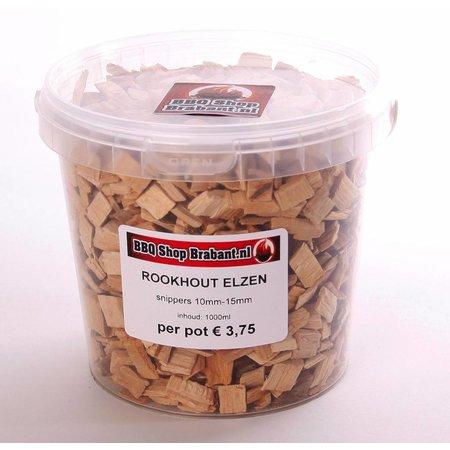 BBQ Shop Brabant Rookhout Elzen 1000 ml